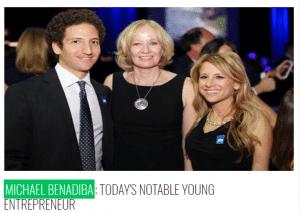 MICHAEL BENADIBA: TODAY'S NOTABLE YOUNG ENTREPRENEUR