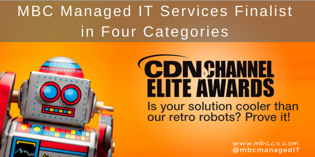 Robot and CDN Channel Elite Awards logo