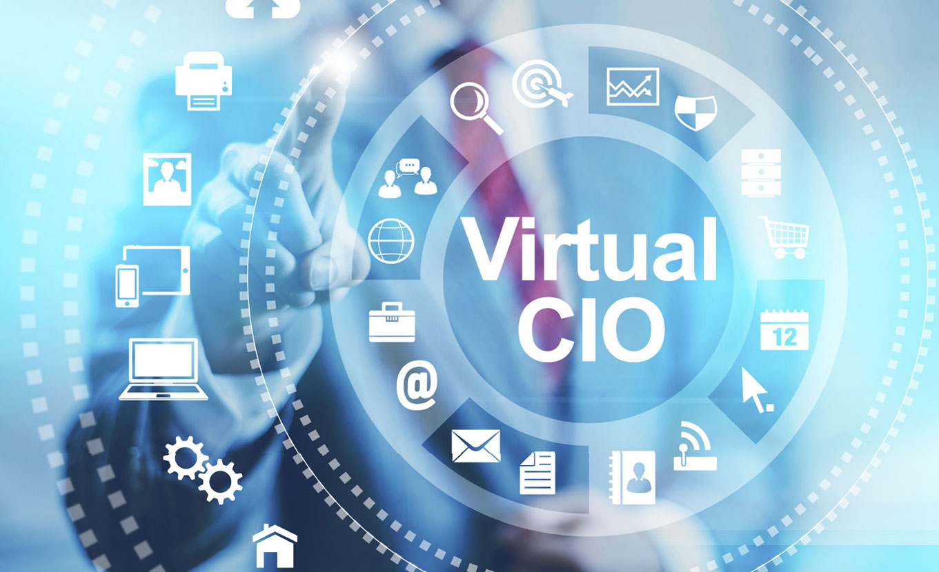 screen showing icons and Virtual CIO