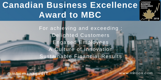 Canada Business Excellence Award