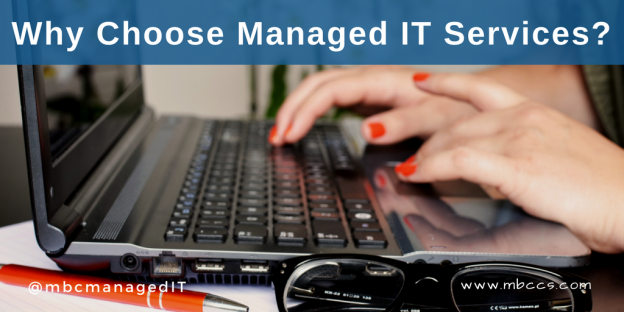 Why Choose Managed IT Services - woman typing