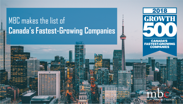 MBC makes the list of Canada's Fastest-Growing Companies