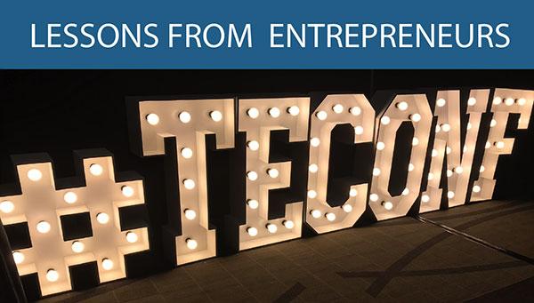 Lessons from entrepreneurs