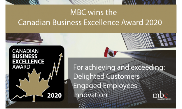 Canadian Business Excellence Award