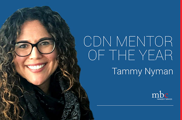 Tammy Nyman Canadian Mentor of the Year