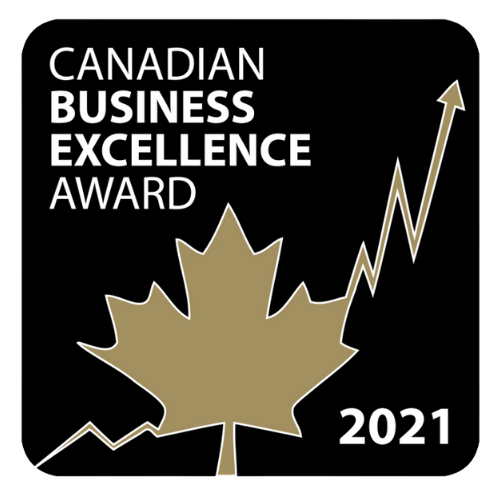 Canadian business excellence award 2021